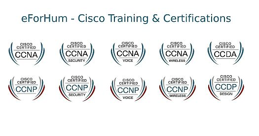 Corsi e certificazioni Cisco CCNA CCNP Voice Security Wireless, Service Provider
