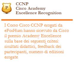 corsi CCNP