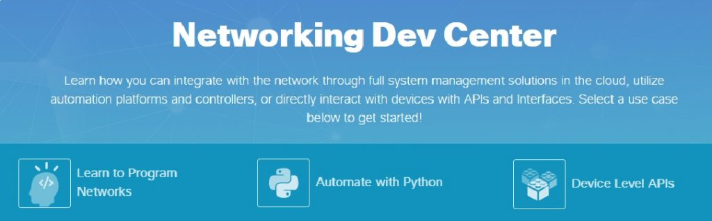 Worshop Cisco Network Programmability 14 settembre 2019