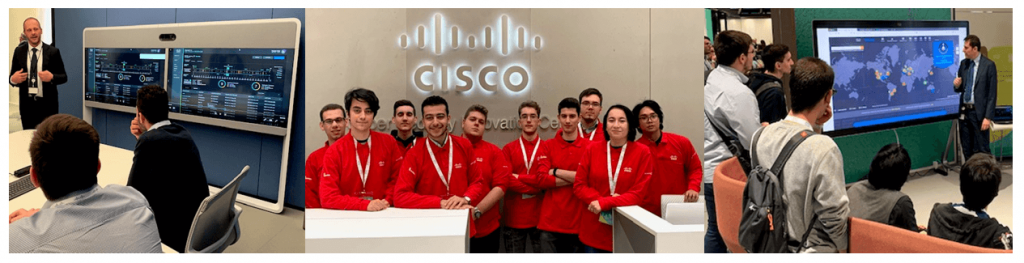 Cybersecurity Innovation Center: i Junior Cisco Academy in visita