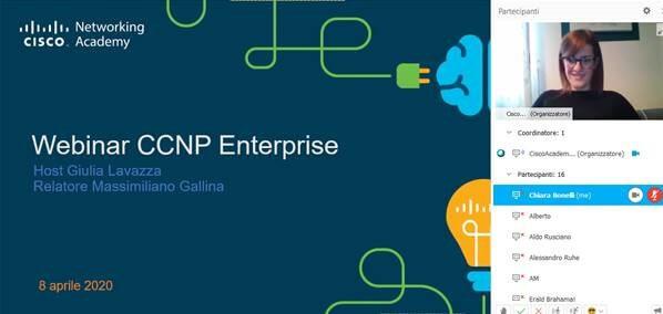 Webinar Cisco CCNP erogato da eForHum online e gratuitamente