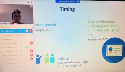 Perchè certificarsi CCNA ora? A febbraio 2020 Cisco ha aggiornato il proprio sistema di certificazione e reso il corso Cisco CCNA ricco di quelle tecnologie richieste per lavorare nel settore informatico ad alto livello