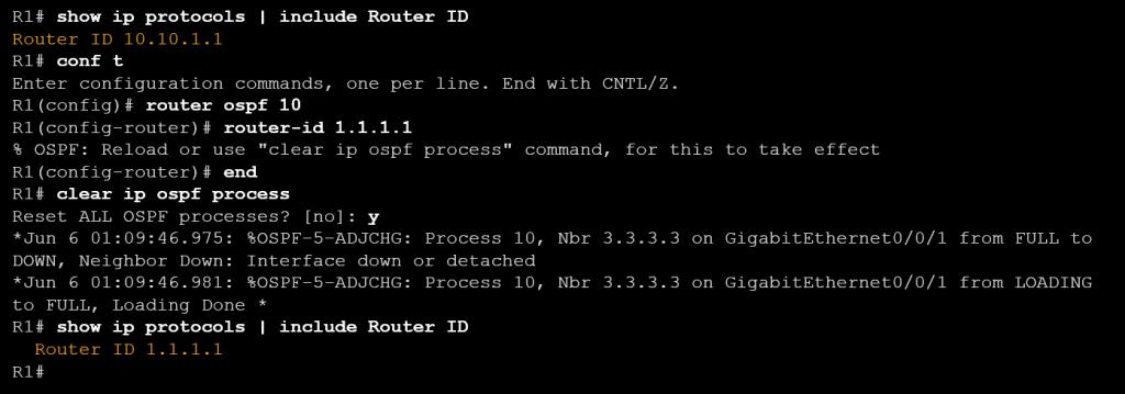 CCNA Cisco Command Line OSPF